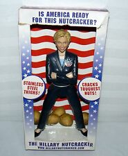 THE HILLARY CLINTON NUT CRACKER STAINLESS STEEL THIGHS CRACKS TOUGHEST NUTS