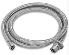 Stainless Steel Weber Q to Caravan gas bayonet hose,  3m replaces PN. HR10010