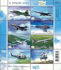 Thailand Stamp, 2012 3063-3070 CEN of RTAF Founding Father Aviation 2, Airplane