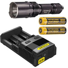 Nitecore TM03 Flashlight -2800Lm -Includes 2x IMR18650D Battery & SC2 Charger