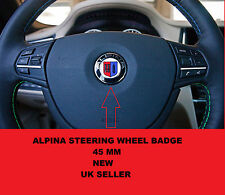 45mm ALPINA Steering Wheel badge Badge Emblem E90 E46 3 5 7 Series M-TEC BMW D3