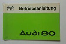 Betriebsanleitung Audi 80 1977 German //00200