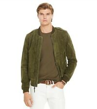 Polo Ralph Lauren Mens Suede Bomber Jacket Size Small NWT Retails Now For $995