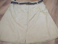 BODEN   BABY  CORD CASUAL BELTED SKIRT SIZE 20 REG BNWOT