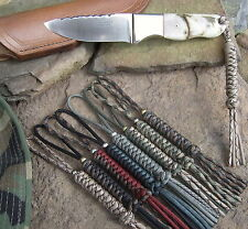 Paracord lanyard custom made for Busse knife A1