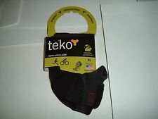 Mens XL Teko socks biking organic wool blend light cushion Made in the USA