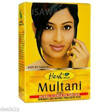 3 X100g Hesh MULTANI MITTI FULLERS EARTH CLAY FOR SKIN POLISHING NATURAL SHINE