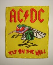 AC DC - FLY ON THE WALL - LOGO Embroidered PATCH ac/dc acdc