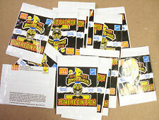 POWER RANGERS POGS BY MCDONALDS UNOPENED PACKS (15) WITH (1) POG EACH PACK