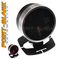 60mm Electronic 2 BAR Boost Gauge - Red Backlit Defi/JDM Style