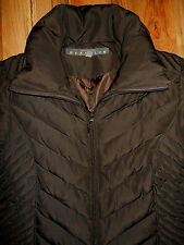 Down Jacket Kenneth Cole Reaction Coat MEDIUM 12 Womens Brown 7c1