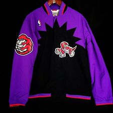100% Authentic Mitchell & Ness Raptors Warm Up Jacket Size 52 2XL - carter tmac