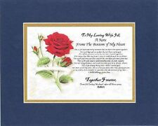 Personalized Heartfelt Poem - A Note From the Bottom of My Heart . . . Poem