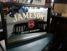 JAMESON IRISH WHISKEY MIRROR SIGN