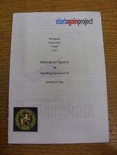31/05/2014 Birmingham Communities League Final: Birmingham Tigers v Sporting San