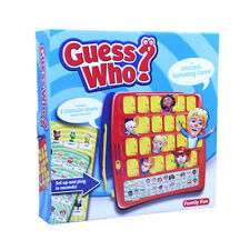 Family Board Game GUESS WHO Mystery Face Game