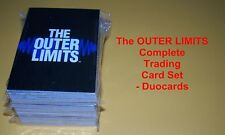 The OUTER LIMITS Complete Trading Card Set - Duocards