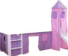 4 Pz. Set stoffa incl. Torre Cinderella per Letti alti di gioco e a castello