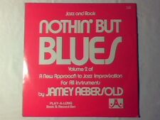 JAMEY AEBERSOLD Nothin' but blues lp USA