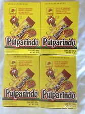 80 Pieces Pulparindo Tamarind Fruit Strip Style Chili Lot 4 X Boxes Mexico Candy