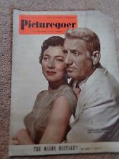 Picturegoer Jan 14 1950 Valentina Cortesa & Spencer Tracy