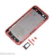Apple iphone 5C Red Back Housing Battery Cover Battery Door Case Replacement