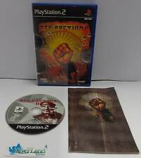 Console Game Gioco SONY Playstation 2 PS2 PAL Play THQ FPS - RED FACTION II 2 -