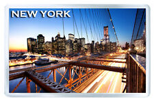 NEW YORK BROOKLYN BRIDGE MOD6 FRIDGE MAGNET SOUVENIR IMAN NEVERA