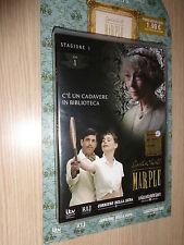DVD N° 1 AGATHA CHRISTIE MARPLE C'E' UN CADAVERE IN BIBLIOTECA STAGIONE 1