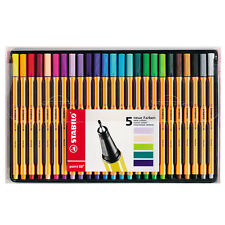 STABILO Point 88 Fineliner Penne Astuccio da 25 assortiti