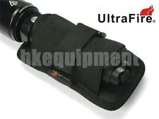 Ultrafire 402 360 Rotate Holster Nylon Pouch Flashlight