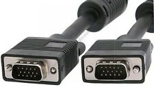 Lot10 6ft SVGA/VGA Male-M Monitor/LCD/TV/HDTV/Projector Cable/Cord/Wire{4xShield