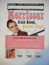 "▓ PLAN MEDIA ▓ MORRISSEY : IRISH BLOOD, ENGLISH HEART ( ""YOU ARE THE QUARRY"" )"