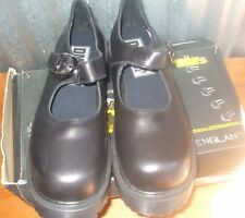 Dr. Marten's UK 8/ US 10 Women's Black Leather Mary Jane Made in England Shoe