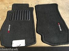NEW OEM NISMO BLACK CARPET FLOOR MATS 2003-2005 350z - 2 PIECE SET