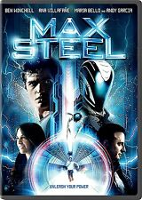 MAX STEEL (DVD 2016) NEW MOVIE *Action, Adventure, Science Fiction* SHIPPING NOW