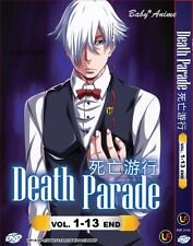 JAPAN DVD Anime DEATH PARADE Complete Series (1-13 End) English Subtitle NEW