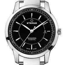 NIB Eterna Tangaroa Automatic Date on Bracelet,Swiss Made, AD, MSRP:$3995,10 Pic