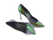Casadei | Blade | Green iridescent | UK 6 | EU 39 | RRP £495 | High Heel Shoes