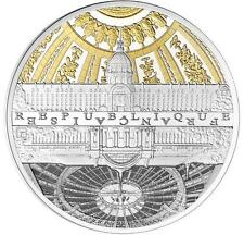 France 2015 UNESCO Banks of the Seine - Invalides Grand Palais 22.2g Silver Coin