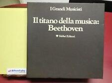 ART 8.807 I GRANDI MUSICISTI N. 8 VINILI IL TITANO DELLA MUSICA BEETHOVEN