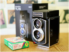 MiNT TL70 2.0 Flex Twin-Lens Instant Camera use Fujifilm instax mini film