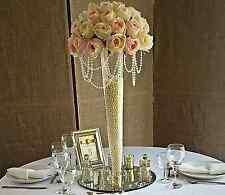 2 x Large Tall Conical Vase 68cm Wedding Table Event Decoration EF