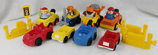 Fisher Price Little People Construction Figures Fork Lift Sounds Tow Trucks Cars