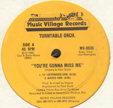 TURNTABLE ORCHESTRA - You're Gonna Miss Me - Music Village