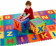 KIDS FOAM ALPHABET PUZZLE CUBE PLAY MATS AREA SET x 26