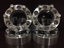 "4 X  2"" inch Thick 6x5.5 Wheel Spacer Adapter 25mm 12x1.5 Studs 6 billet 6x139.7"