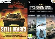Steel Beasts gold&ww2 combat bundle tank operations&storm over the pacific&1more