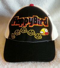EUC Flappy Bird Snap Back Hat Black White Red Free Shipping!