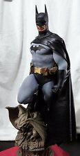Sideshow Batman Premium Format Figure Custom Leather Cape Arkham Style